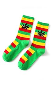 Calcetines Hoja ALV & 420 Unisex Rastafari
